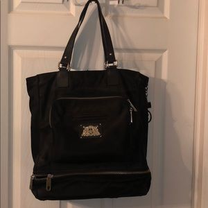 Large Black Juicy Couture Tote